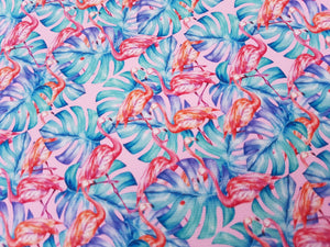 Flamingo Leaf Fabrics