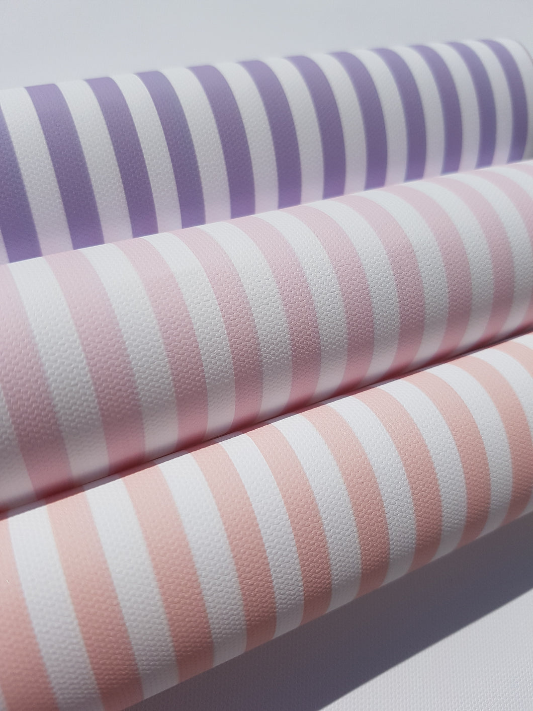 Candy Stripe Printed Fabric - 6 colours