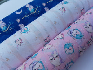 Owl Fabric Collection