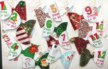 Christmas Countdown Printed Fabric 12 - Christmas Day
