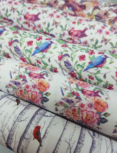 Bird collection Bow Fabric