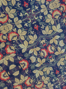 Russian Flower Fabric 20cm x 28cm