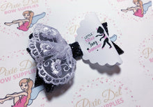 Little Miss Tiny Dancer printed fabric