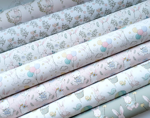 Bunny Collection  ( 7 fabrics to choose from )