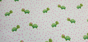 Watercolour Tortoise Printed Fabric