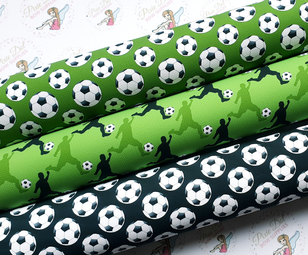 Football Fabric (3 to choose from)