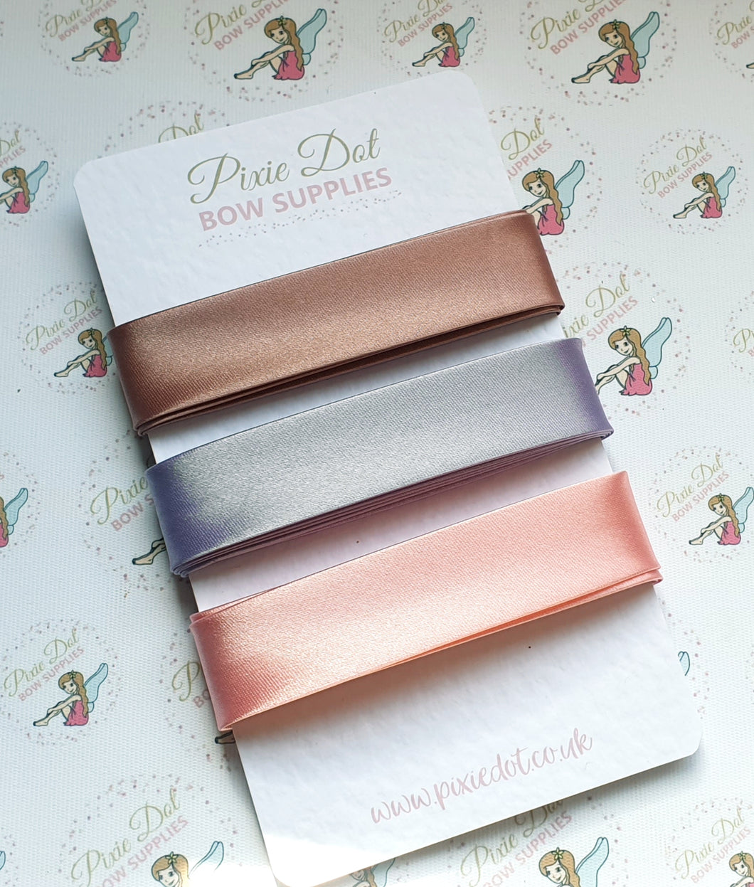 20mm Satin Bias Binding metre lengths