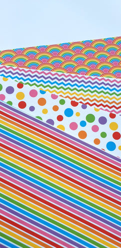 Rainbow Patterns (4 to choose from) 412