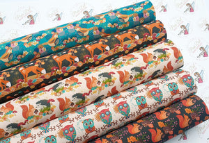 Autumn Collection 369 ( 5 fabrics to choose from )