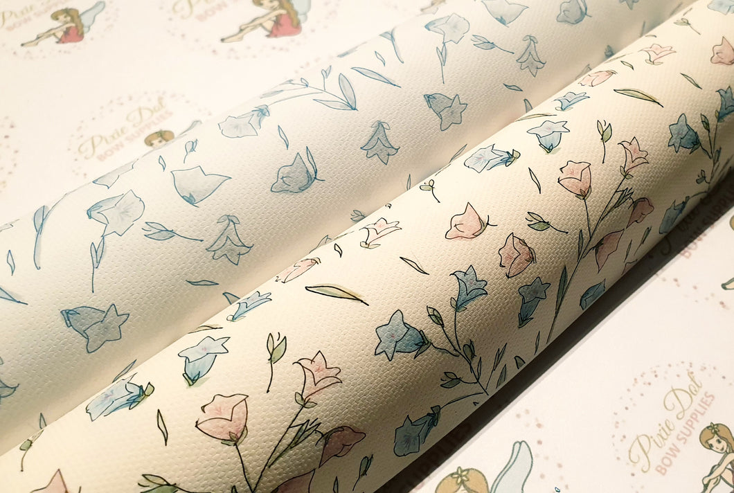 Bluebell Printed Fabric - 2 to choose from