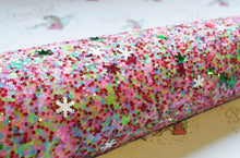 Snowflake Glitter Sprinkles (2 different colours)