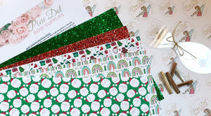Pixie Dottie Christmas Bow Making Starter Kit