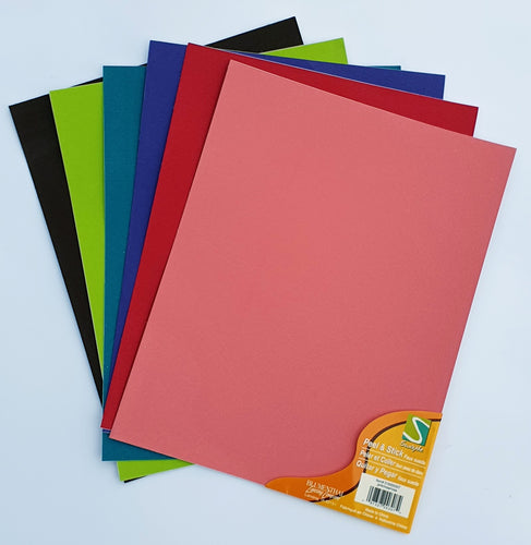 Suede effect Self Adhesive (21.5cm x 27.5cm)