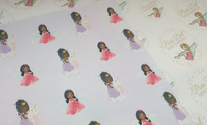 Lilac Princess Fabric