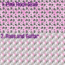 Rock and Roll Fabric - 4 to choose from