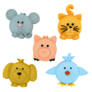Pudgy Pets - Dress it up buttons