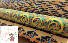 A4 African Printed Bow Fabric (3 to choose from)
