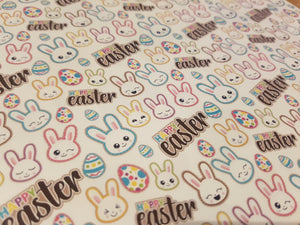 Happy Easter Fabric