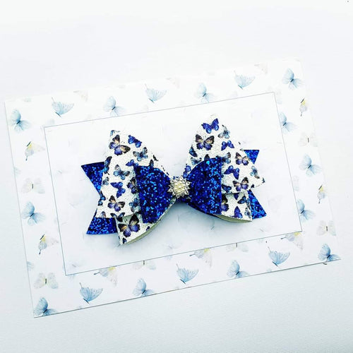 Double Dottie Large and Medium layered bow