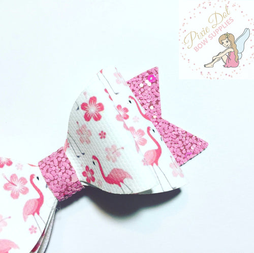 Mini Flamingo Printed Fabric