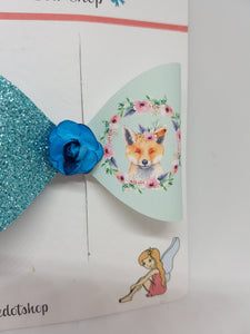 Fox Wreath Fabric