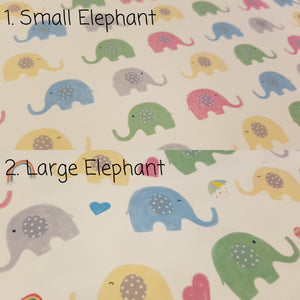 Elephant Fabric - (2 to choose from)