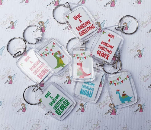 Blank Keyrings - Pack of 5