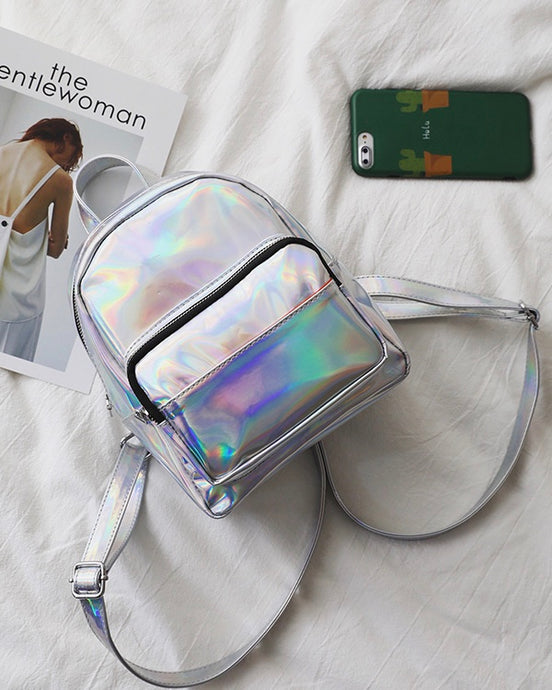 IRIDESCENT BABY BACKPACK