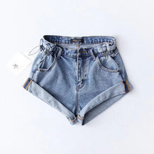 Load image into Gallery viewer, SERA DENIM SHORTS