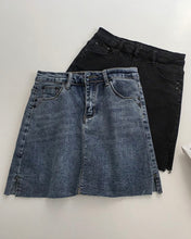Load image into Gallery viewer, BASIC DENIM SKIRT