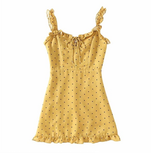 RUFFLE ME UP SUMMER DRESS