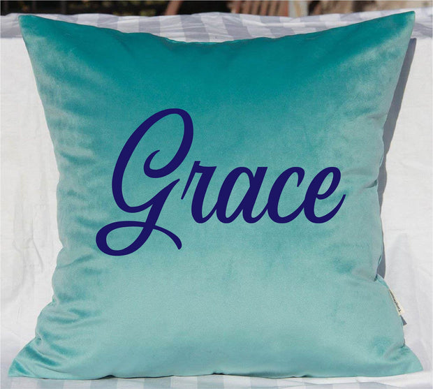 PERSONALIZED VELVET PILLOWS ARE BACK!