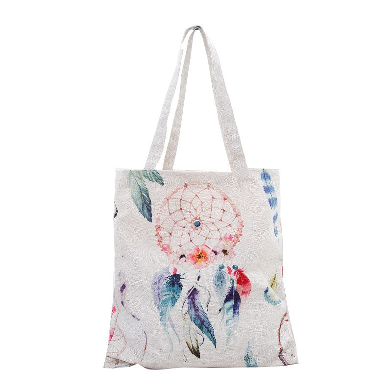 Dreamcatcher Canvas Tote Bag