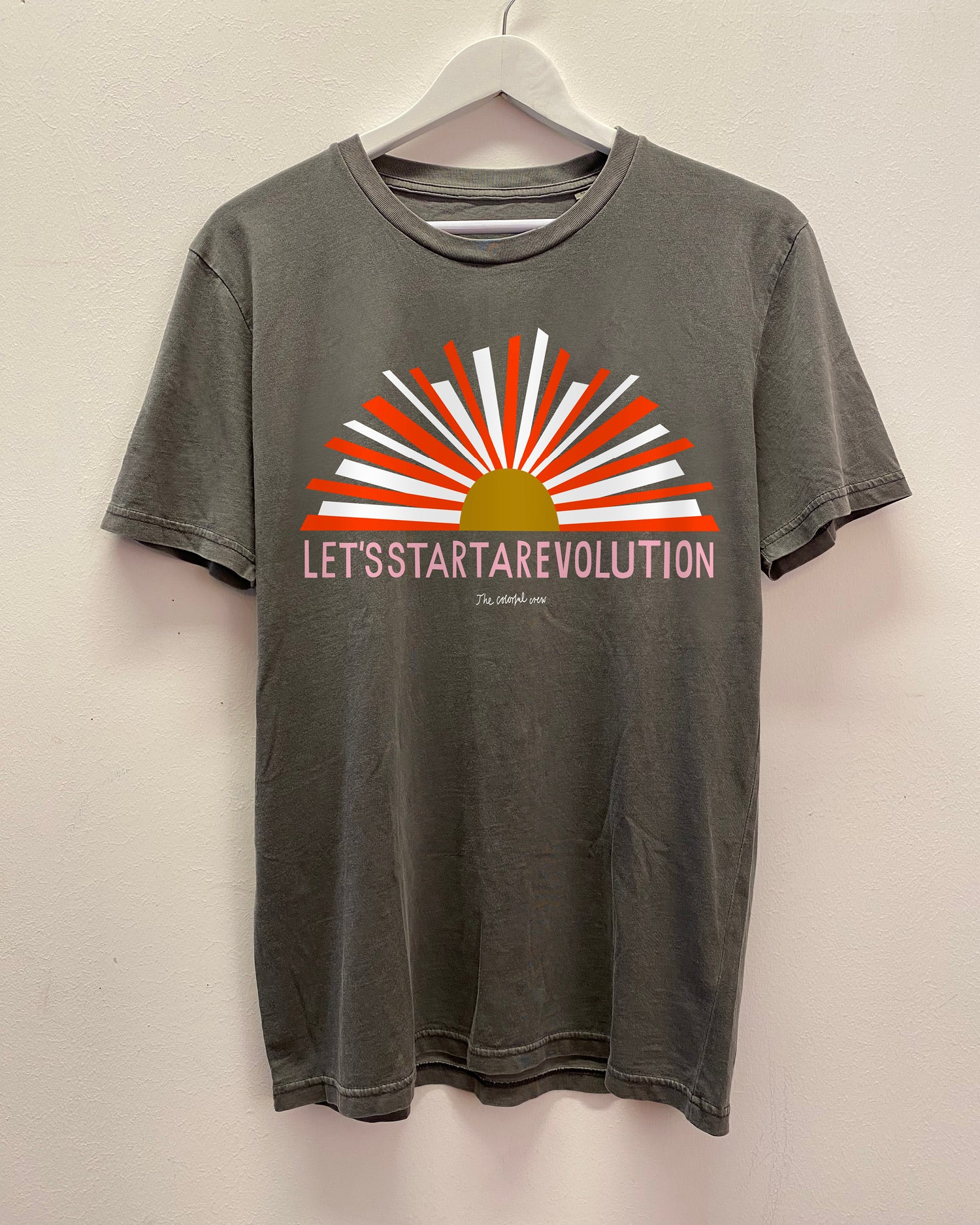 NEW // pre order LET,S START A REVOLUTION T-Shirt