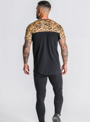 Gianni Kavanagh / T-Shirt Black Block Baroque Extrem