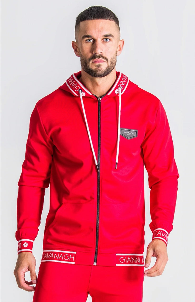 Gianni Kavanagh / Red Jacket With GK Red