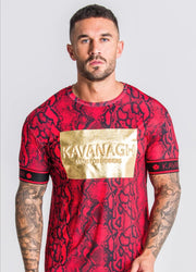 Gianni Kavanagh / T-Shirt GK Winners Special Edition Snake Print