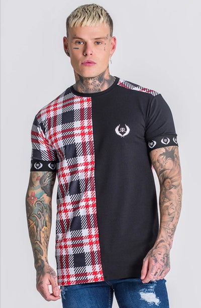 Gianni Kavanagh / T-Shirt Multicolor Tartan Rock