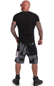 Yakuza / Burning Skull Shorts