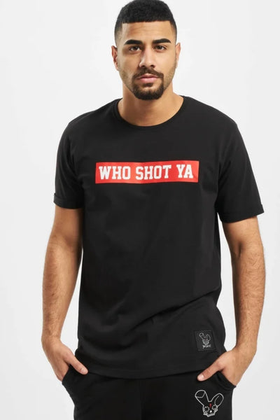 Who Shot Ya? / T-Shirt Schwarz