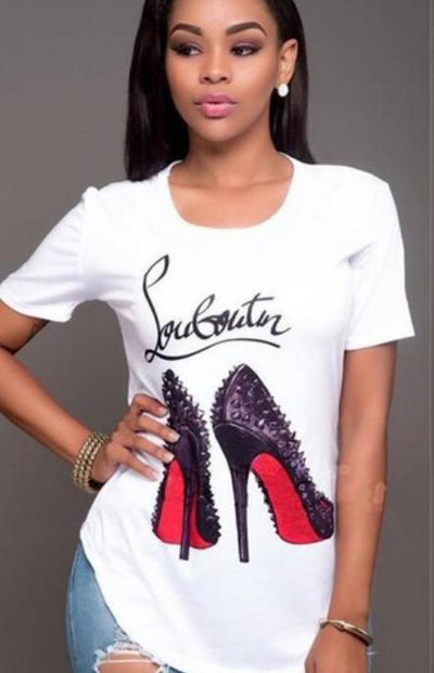 Sanny / T-Shirt High Heels