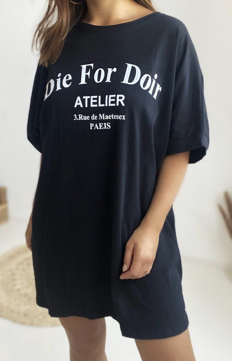 Be'lieve / T-Shirt Die for Dior