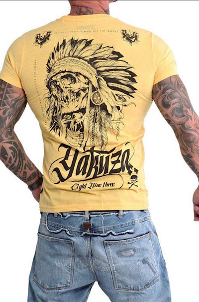 Yakuza / T-Shirt Indian Skull