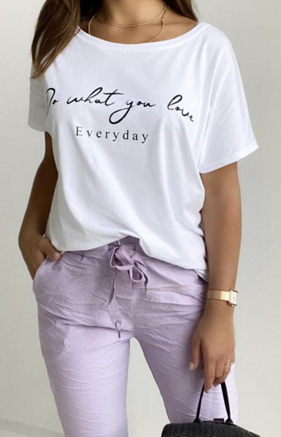 Be'lieve / T-Shirt Do What You Love