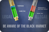 BE AWARE OF THE BLACK MARKET!