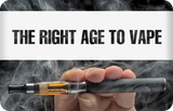 THE RIGHT AGE TO VAPE