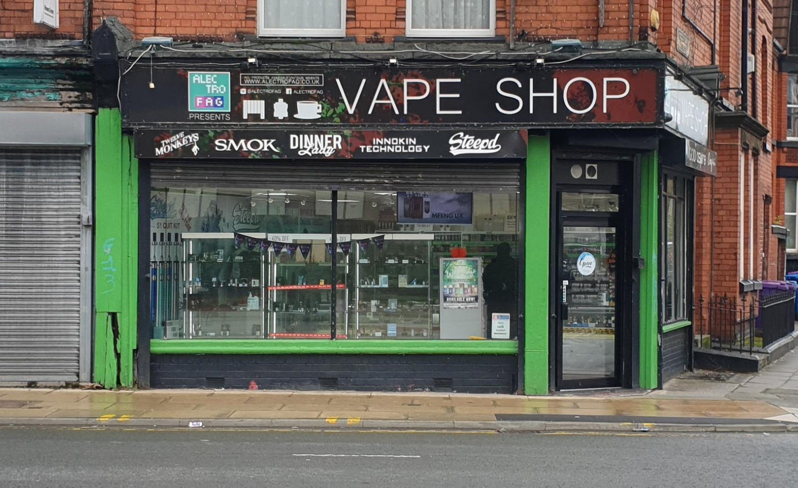 Best Vape shop in Liverpool