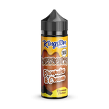Brownies & Cream 120ml Shortfill E-liquid by Kingston