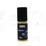 Blueberry 10ml 20mg Nicotine Salt E-Liquid by Soltz
