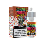 Cola Menthol 10ml Nicsalt Eliquid by Zombie Blood